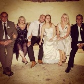 Our wedding day - Family!